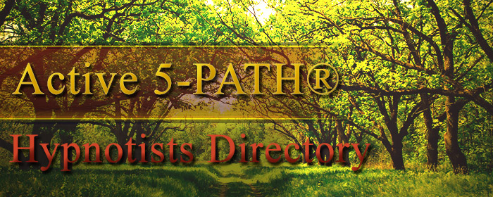 Active 5-PATH® Hypnotists Directory Banner