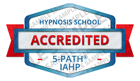 5-PATH® Accredited Hypnosis School Badge Sample
