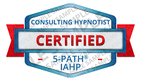 5-PATH® Certified Consulting Hypnotist Badge Sample