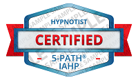 5-PATH® Certified Hypnotist Badge Sample